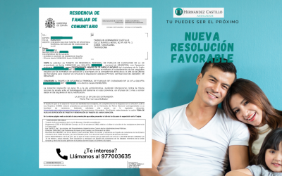 RESOLUCIÓN FAVORABLE DE RESIDENCIA DE FAMILIAR DE COMUNITARIO DE GIULIETA RESUELTA EN SOLO 2 DÍAS