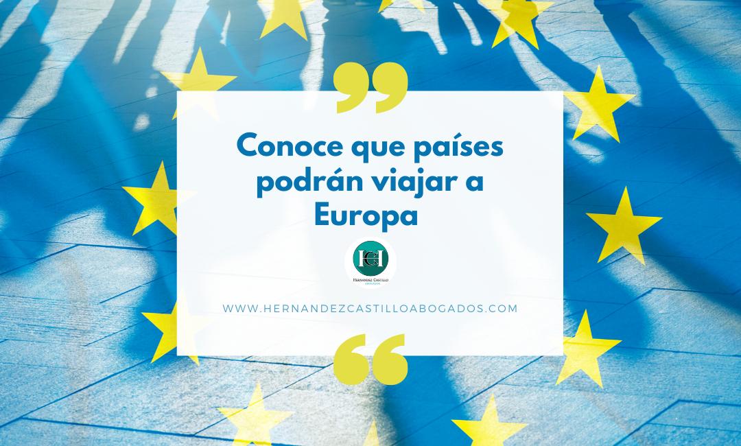 CONOCE LOS 15 PAISES QUE PODRÁN VENIR A EUROPA TRAS LA APERTURA DE FRONTERAS DE LA UNIÓN EUROPEA