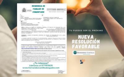 NUEVA RESIDENCIA DE FAMILIAR DE COMUNITARIO CONCEDIDA A JESUS EN 4 DÍAS??
