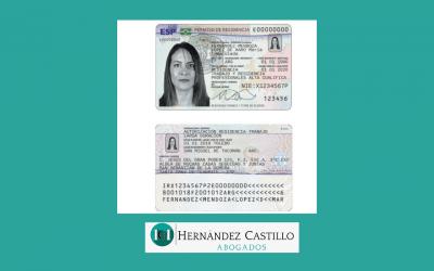 NUEVO FORMATO DE TARJETA DE IDENTIDAD DE EXTRANJERO